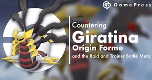 Countering Giratina Origin Forme And The Raid And Trainer