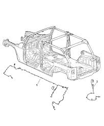 wiring chassis for jeep wrangler mopar parts giant 2011 jeep wrangler 6 cyl 3 8l smpi electrical wiring chassis