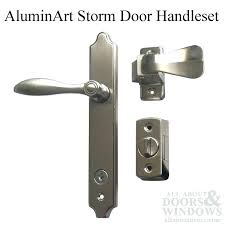 Storm Door Latch Repair Lever Pella Assembly