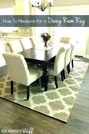 area rugs for kitchen table rug under round suggestion best the best size rug for dining