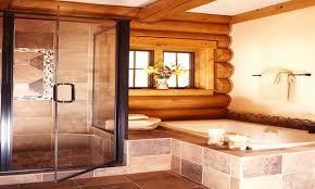 Log Bedroom Suites Log Cabin Mastersuite Bathroom Log Cabin Master Bedroom Suite Log