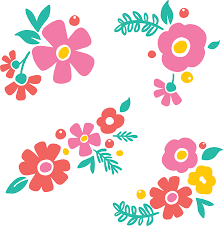 Cut out the paper flowers from the free svg templates. Free Svg Flower Cut File For Silhouette Or Cricut Persia Lou