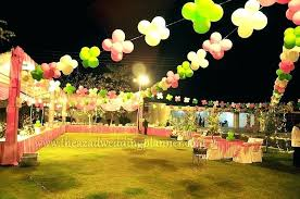 tent decorations for parties balloon decor outdoor birthday arrangements day ideas party tents decorating de