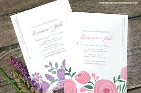 new romantic floral designs for our seed paper printable wedding Printable Wedding Invitation Kits Purple new romantic floral designs for our seed paper printable wedding invitations kit Printable Wedding Invitation Templates Blank
