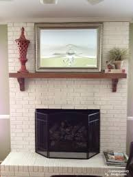 large size of top painted brick fireplace ideas have fireplacea painting rock diy pictures of fireplaces