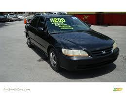 2002 Honda Accord LX Sedan in Nighthawk Black Pearl - 085787 | Jax ...
