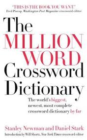 9780061122118 the million word crossword dictionary