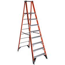 werner p7408 8 fg platform ladder orange 1aa