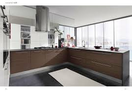 walnut kitchen cabinets modern dark cabinet sets black iron stove brown varnished wooden countertop cream tile backsplash design idea home improvement and