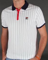 fila vintage polo. fila mk1 settanta polo shirt in white, red \u0026 navy - bb1 borg tenenbaum 80s vintage a