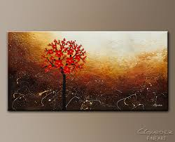 flower painting season of love lanscape paintings abstract artwork