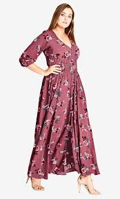 Shop Women S Plus Size Women S Plus Size Maxi Dress City Chic Usa