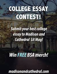 bsa stereotypes madison and cathedral college essay contest