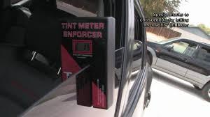 Tint Meter On 70 35 20 Window Tint