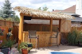 outdoor tiki bar stools photo 1