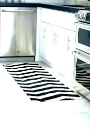 kitchen area rugs black and white striped rug kitchen area rugs