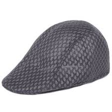 Fashion Breathable Cotton Beret Flat Cap Gatsby Newsboy ... - Vova