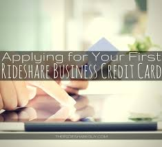 Applying For Business Credit Which Credit Card Should New Uber Drivers Apply For