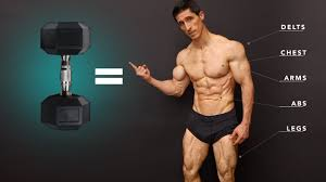 ultimate total body dumbbell workout