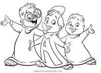 Alvin Da Colorare E Stampare Alvin 3 Disegni Per Bambini Da