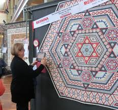 Australasian Quilt Convention (AQC) 2016 | Canberra Quilters Inc. & Elenor Jean by Linda White (Vic) Adamdwight.com