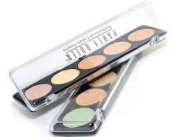 palette 1 studio finish concealers hot mc brand makeup studio 5 color corretivo liquid foundation base
