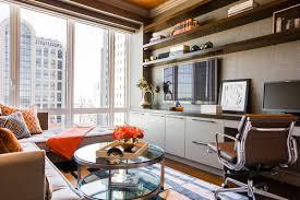 living room office. Contemporary Home Office By Boston Interior Designers \u0026 Decorators Terrat Elms Design Living Room