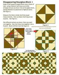 The Disappearing Hourglass Quilt- Easy Quilting with Layer Cakes ... & Cheat Sheet for Disappearing Hourglass 2. Based on the video at the Missouri  Star Quilt Adamdwight.com