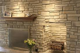 stack stone fireplace. Image Of: Dry Stack Stone Fireplace