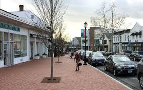 White Privilege      Essay Contest Stirs Up a Connecticut Town   The     A downtown scene last week in Westport  Conn   where a student essay contest about    white privilege    has created an uproar  Credit Michael Melia Associated