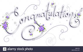 word of congratulations wedding text featuring the word congratulations stock photo