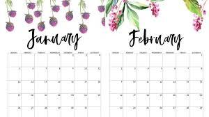 Online 2020 January February Calendar Template Net Market