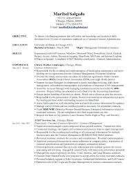 contract administrator resume 10673