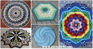 Crochet Circle Pattern Mesmerizing Crochet Circle Blanket Free Patterns
