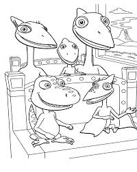 Simple free dinosaur coloring page to print and color (from the disney movie) cute free dinosaurs coloring page to download : Buddy And Tiny Ride Train With Shiny Family In Dinosaurus Train Coloring Page Coloring Sun Train Coloring Pages Dinosaur Coloring Pages Dinosaur Train