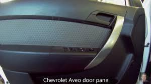 Chevrolet Aveo door panel removal - YouTube