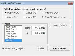 Payroll Tax Worksheet Quickbooks Payroll Liability Reports And Troubleshooting