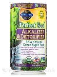 perfect food raw alkalizer and detoxifier organic powder 10 oz 285 grams