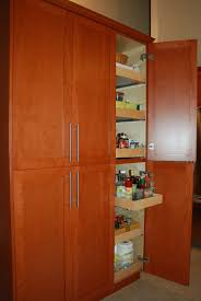 42 Inch Kitchen Cabinets Kitchen Traditional Tall Kitchen Cabinet Featuring Floating