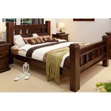 Good RUSTIC KING SIZE BED | Wood World Furniture