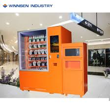 Hot Vending Machine Interesting China Heat Hot Food Vending Machine With Microwave And Cooler System