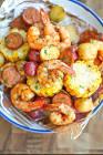 baked shrimp in foil