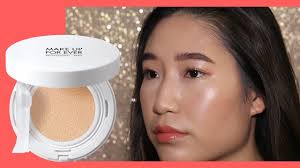 makeup forever uv bright cushion foundation first impressions review demo