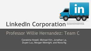 Ppt Linkedin Corporation Powerpoint Presentation Id 1666708