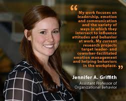 Unh Quote Beauteous Jennifer A Griffith UNH Assistant Professor Of Organizational