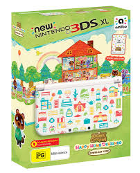 3ds Xl Happy Home Designer Bundle New Nintendo 3ds Xl Console Animal Crossing Happy Home Designer Edition