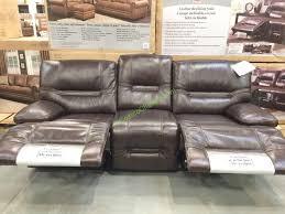 costco 463006 pulaski furniture leather reclining safe2