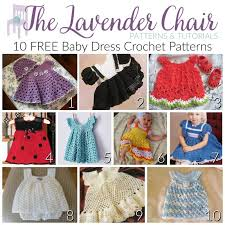 Free Baby Dress Patterns Fascinating FREE Baby Dress Crochet Patterns The Lavender Chair