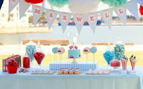 1st birthday decorating ideas inspiration graphic images on red