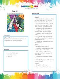 Elementary Art Lesson Plans Pin By Square 1 Art On New Lesson Plans National Art